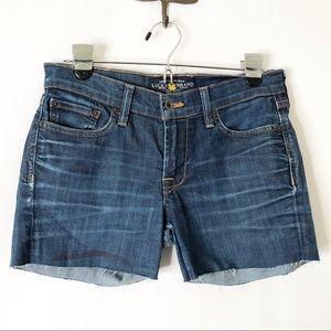 Lucky Brand Sweet 'N Low cutoff jean shorts